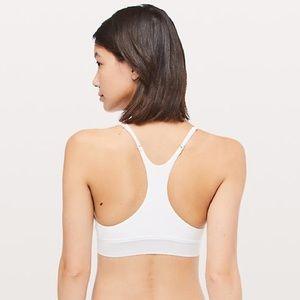 lululemon athletica Intimates & Sleepwear - Lululemon Ever Essentials Cotton Blend White Bra